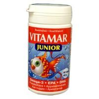 Витамины Рыбий жир Омега 3 Vitamar Junior Omega 3 60 капсул Hankintatukku