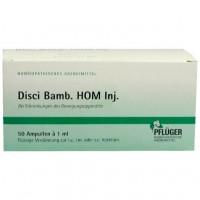 Гомеопатическое лекарство для лечения заболеваний костно-мышечной системы в ампулах DISCI Bamb HOM 1 ml Injektionslösung 50 шт A.Pflüger