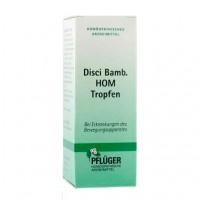 Гомеопатическое лекарство для лечения заболеваний костно-мышечной системы в каплях DISCI Bamb HOM Tropfen 50 мл A.Pflüger