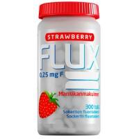 Таблетки Фторида натрия с клубникой FLUX STRAWBERRY 0,25 мг 300 шт Actavis