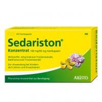 Капсулы для успокоения нервов SEDARISTON Konzentrat Hartkapseln 60 шт Aristo Pharma