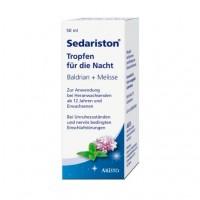Капли от нервного стресса вечерние SEDARISTON Tropfen f.d.Nacht 50 мл Aristo Pharma