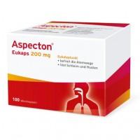 Капсулы от простуды дыхательных путей ASPECTON Eukaps 200 mg Weichkapseln 100 шт Aspecton