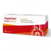 Капсулы от простуды дыхательных путей ASPECTON Eukaps 200 mg Weichkapseln 20 шт Aspecton