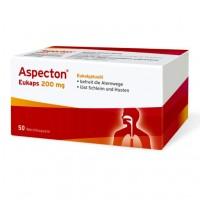 Капсулы от простуды дыхательных путей ASPECTON Eukaps 200 mg Weichkapseln 50 шт Aspecton