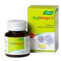 Капсулы VegOmega-3 с льняным маслом и маслом морских водорослей 30 шт A.Vogel
