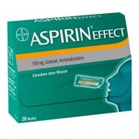 Гранулы Аспирина 500 мг таят во рту ASPIRIN Effect Granulat 20 шт Bayer