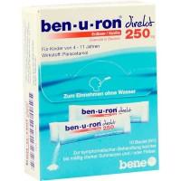 Гранулы жаропонижающие с парацетамолом BEN-U-RON direkt 250 mg Granulat Erdbeer/Vanille 10 шт BEN-U-RON