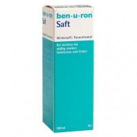 Парацетамол в суспензии от боли и лихорадки для младенцев BEN-U-RON Saft 100 мл BEN-U-RON