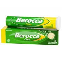 Шипучие таблетки В комплекса Berocco CITRUS 15 шт Bayer
