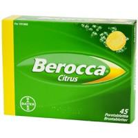 Шипучие таблетки В комплекса Berocco CITRUS 45 шт Bayer