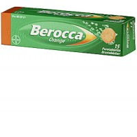 Шипучие таблетки В комплекса Berocco Orange 15 шт Bayer