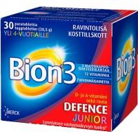 Таблетки жевательные с молочнокислыми бактериями минералами Bion3 Junior 30 шт. Bion3