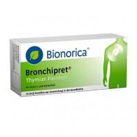 Пастилки с темьяном от простуды дыхательных путей BRONCHIPRET Thymian Pastillen 30 шт Bionorica