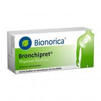 Пастилки с темьяном от простуды дыхательных путей BRONCHIPRET Thymian Pastillen 50 шт Bionorica