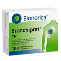 Таблетки от простуды дыхательных путей BRONCHIPRET TP Filmtabletten 100 шт Bionorica