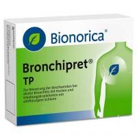 Таблетки от простуды дыхательных путей BRONCHIPRET TP Filmtabletten 20 шт Bionorica