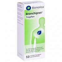 Капли при острых воспалительных заболеваний бронхов BRONCHIPRET Tropfen 50 мл Bionorica