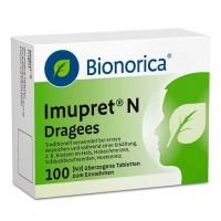 Драже из трав от простуды IMUPRET N Dragees 100 шт Bionorica