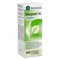 Капли из трав от простуды IMUPRET N Tropfen 100 мл Bionorica