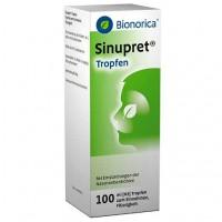 Капли от насморка для детей  SINUPRET Tropfen 100 мл Bionorica