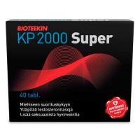 Витамины для мужчин KP 2000 Super 40 таблеток Bioteekki