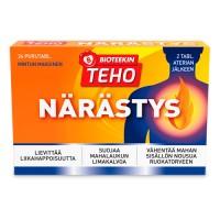 Препарат от изжоги Teho Närästys 24 жевательные таблетки Bioteekki