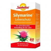 Препарат для лечения печени с расторопшей SILYMARINE Leberschutz Kapseln 60 капсул Borner