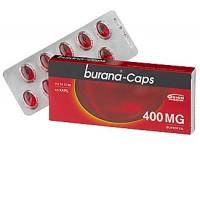 Капсулы жаропонижающие и болеутоляющие Burana 400 мг 10 шт. Burana