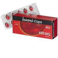 Капсулы жаропонижающие и болеутоляющие Burana 400 мг 20 шт. Burana