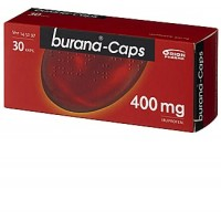 Капсулы жаропонижающие и болеутоляющие Burana 400 мг 30 шт. Burana