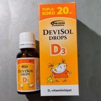 Капли с витамином D3 10 мкг для детей DeviSol Drops D3 20 мл DeviSol