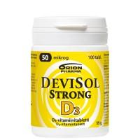 Витамины  D3 50 мкг Devisol D3-Vitamiini Strong 100 таблеток Devisol