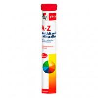 Шипучие таблетки мультивитамин A-Z Multivitamin+Mineralien 15 шт DoppelHerz
