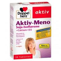 Витамины для женщин во время и после менопаузы DOPPELHERZ Aktiv-Meno Tabletten 30 шт DoppelHerz