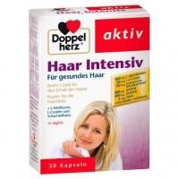 Витамины для волос DOPPELHERZ Haar Intensiv Kapseln 30 шт DoppelHerz