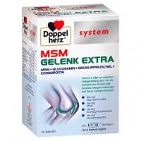 Витамины для суставов DOPPELHERZ MSM Gelenk extra system Kapseln 60 шт DoppelHerz