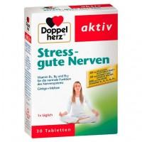 Витамины от стресса DOPPELHERZ Stress gute Nerven Tabletten 30 шт DoppelHerz