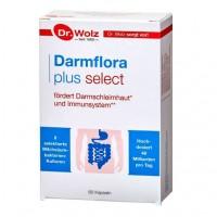 Капсулы для восстановления здоровой кишечной флоры DARMFLORA plus select Kapseln 80 шт Dr.Wolz