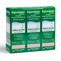 Эмульсия от метеоризма и младенцеских колик ESPUMISAN Emulsion 3 Х 30 мл ESPUMISAN
