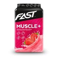 Напиток для восстановления мышц с клубникой MUSCLE+ 900 гр FAST