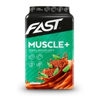 Напиток для восстановления мышц мятный шоколад MUSCLE+ 900 гр FAST