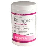 Порошок Коллаген-гиалуроновая кислота kollageeni plus 150 гр FennoVita