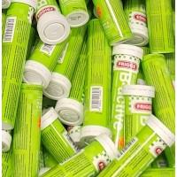 Шипучие таблетки с витамином B B-active (зеленый) 20 шт Friggs
