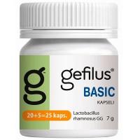 Капсулы с молочнокислыми бактериями Gefilus LGG Basic 20 шт. Gefilus