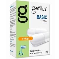 Капсулы с молочнокислыми бактериями Gefilus LGG Basic 50 шт. Gefilus