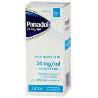 Капли жаропонижающие PANADOL 24 мг / мл 60 мл GlaxoSmithKline