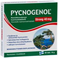 Витамины Pycnogenol strong 40 mg 60 таблеток Hankintatukku