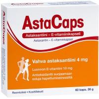 Астаксантин и витамин E для укрепления иммунной системы Astacaps 60 капсул Hankintatukku