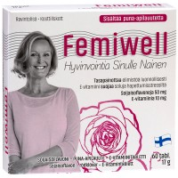 Витамины Femiwell для женщин 60 таблеток Hankintatukku